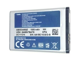 Samsung AB553446GZ 1000mAh Li-Ion Rechargeable Battery - $6.92