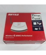 Buffalo AirStation Turbo G High Power WLITX4G54HP Wireless Ethernet Conv... - $49.99