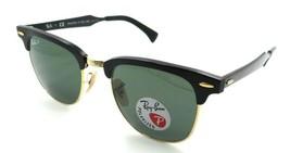 Ray-Ban Sunglasses RB 3507 136/N5 51-21-145 Black / Green Polarized Alum... - $164.15