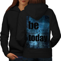 Motivatel Quote Sweatshirt Hoody Positive Life Women Hoodie Back - $21.99+