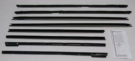 1965-1966 CADILLAC DEVILLE 2 DOOR HARDTOP WINDOW WEATHERSTRIP KIT 8 PIECES - $169.25