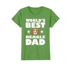 Worlds Best Beagle Dog Dad - Owner Lover Gift T-Shirt - $19.99+