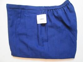 Sag Harbor Women's Pants Plus Size 22W Inseam 30 Blue Stretch #J1 - $21.84