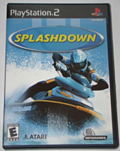 Playstation 2 - SPLASH DOWN (Complete with Manual) - $10.00
