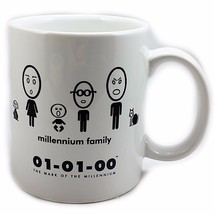 Millennium Family Nerd Coffee Mug 10 oz Cup 01-01-00 At Home Intl k547 - $14.29