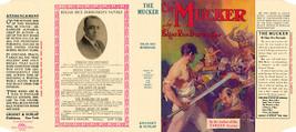 Edgar Rice Burroughs The Mucker Faksimile Dust -umschlag 1. Grosset&dunlap - $21.50