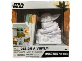 Star Wars The Mandolorian The Child Disney  Design a Vinyl Color Baby Yo... - $18.99