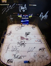 2014-15 St. Louis Blues Team Signed Team Autographed 16X20 Photo w/COA Tarasenko - $225.00