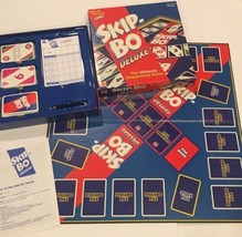 Skip Bo Deluxe Card Game Mattel Sequencing 2001 Complete - $46.73