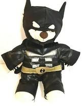 Build A Bear Batman Bear W/ Cape DC Comics Teddy Plush 16in Dark Night R... - $19.74