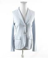 Light blue HARRIS WHARF LONDON long sleeve jacket IT44 10 - $349.99