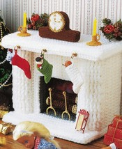 "Barbie 11-1/2"" Fashion Doll Xmas Tree Fireplace Dress Angel Crochet Pattern image 7"