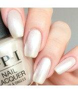 OPI xoxo SNOW GLAD I MET YOU Soft White Pearl French Nail Polish Lacquer... - $9.77