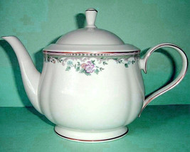 Lenox Spring Vista Teapot Floral Border & Gold Trim New - $175.90