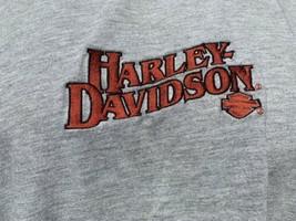 Jim's Harley Davidson On The Beach St. Pete Florida Orange T-Shirt XL Em... - $24.74