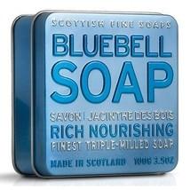 Scottish Fine Soaps Nourishing Bluebell Soap in a Tin 100g 3.5oz - $12.00