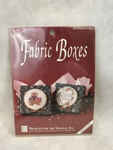Designs For The Needle 6510 Bear Love Fabric Box Vintage Cross Stitch Kit - $11.30