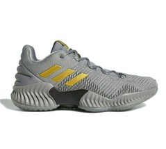 Adidas Pro Bounce 2018 Low Grey Gold AH2683 Mens Basketball Shoes Size 8 - $79.95