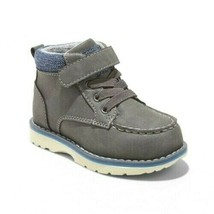 Cat & Jack Toddler Boys' Gray Cornelius Mock Toe Chukka Boots