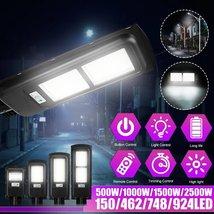 1000W 4000LM Solar Power Street Light - $58.50