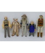 Kenner 1980-83 Star Wars Action Figure Lot ~ Hoth Rebel Soldier, Lobot, ... - $61.74