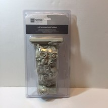 Small Rose Sconce JC Penney Home Collection Wall Sconce Scarf Holder White - $19.34