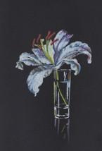 "Akimova: LILY, flower, still life, garden, size approx. 6""x8.5"" - $15.00"