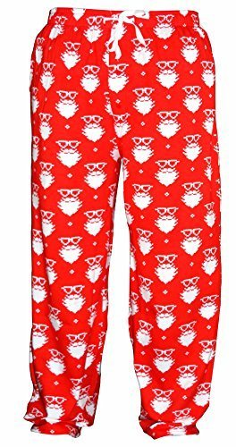 Unique Baby UB Mens Christmas Santa Matching Family Pajama Pants (S)
