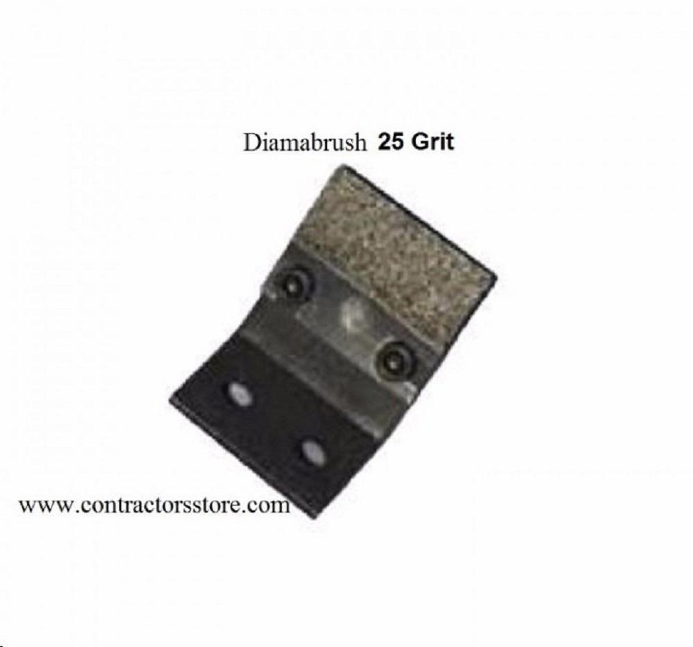 Diamabrush Mastic Replacement Blades 25 Grit - 10 blades