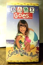 BABY GOES SONGS TO TAKE ALONG  VHS 1995  NEW - $3.47