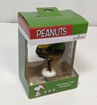 Peanuts Woodstock in Bird Bath Figurine Hallmark Ornament  2019 - $15.88