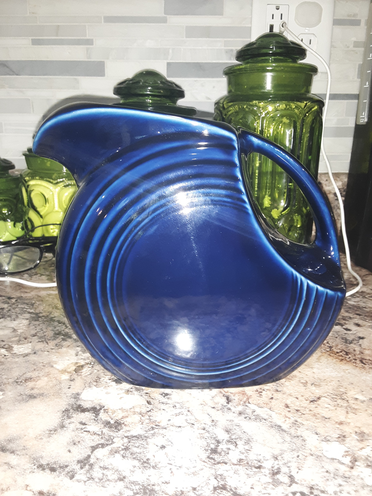 Primary image for Fiesta Large Blue Disc Pitcher