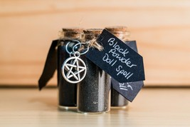 Black Powder Doll Spell - Hex, Protection, Yorkshire, Wicca, Ritual, Han... - $8.83
