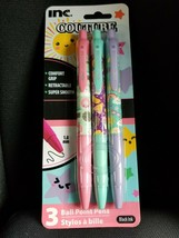 Inc Coture Ball Point Pen Pack Cute For School