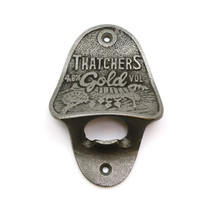 Thatchers Gold Wall Mounted Bottle Opener (Approx 110mm x 75mm) - $12.00