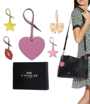 NWT Authentics COACH Ornament Bag Charm in Metallic Choose - $14.89