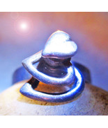 FREE W $49 HAUNTED SPINNING RING MAGNIFYING LOVE EXTREME MAGICK MYSTICAL  - $0.00