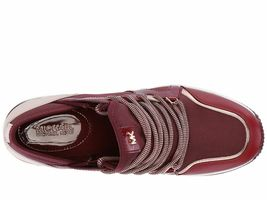Michael Kors MK Women's Liv Trainer Sneakers Shoes Oxblood New /w Defect Sz 5.5 image 6