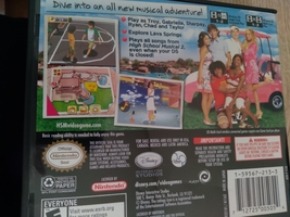 Nintendo DS Disney High School Musical 2: Work This Out! image 2