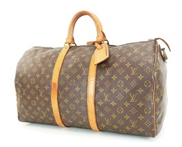 Authentic Vintage LOUIS VUITTON Keepall 50 Monogram Canvas Duffel Bag #3... - $359.00