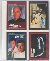 1991 Impel Star Trek 4- Card Uncut Sheet-Near Mint/Mint! - $18.80