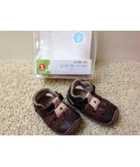 Stride Rite Baby Boys 3-6 Months Size 2 CRIB & CRAWL Leather & Fabric Sh... - $14.69