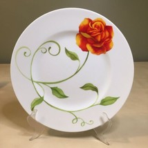 Lyrical Blooms by Westbury Court Dinner Plate Rose Floral  - $14.84