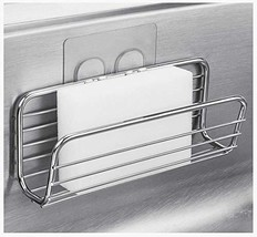 Adhesive Sponge Holder Sink Caddy for Kitchen Accessories - SUS304 Stain... - $9.96