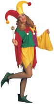 Jester Kings Costume Adult Men Women Halloween Party Unique One Size AA59 - €42,81 EUR