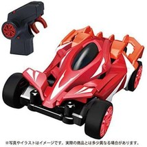 Takara Tomy Giga Stream GS-02 Flare Red Acrobatic Rc Remote Control Car Japan - $75.00