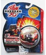 Bakugan WORMQUAKE Black Darkus Battle Brawlers B2 Booster Pack Figure 2009 - $23.66