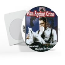 Man Against Crime Television Series 51 Episodes DVD Set [DVD Artwork Inc... - $14.99