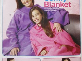 McCalls Sewing Pattern MP324 One Size Easy Comfy Blanket Uncut 2009 - $9.41