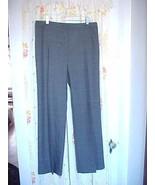 NWT Ellen Tracy Winter Trouser Career Dress Pants Brown Black 6 Ret $99 - $32.88